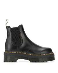 schwarze Chelsea Boots aus Leder von Dr. Martens