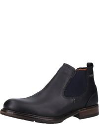 schwarze Chelsea Boots aus Leder von FRETZ men