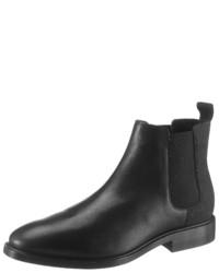 schwarze Chelsea-Stiefel aus Leder von G-Star RAW