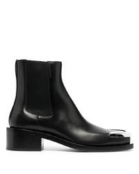 schwarze Chelsea Boots aus Leder von Givenchy