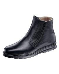 schwarze Chelsea Boots aus Leder von Helix