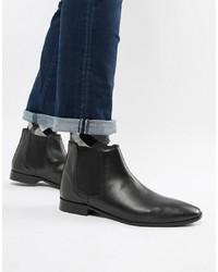 schwarze Chelsea Boots aus Leder von Kg Kurt Geiger