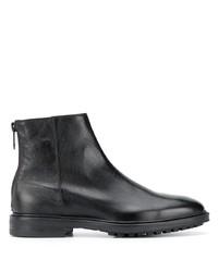 schwarze Chelsea Boots aus Leder von Paul Smith