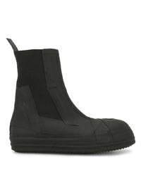 schwarze Chelsea Boots aus Leder von Rick Owens