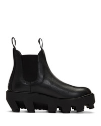 schwarze Chelsea Boots aus Leder von S.R. STUDIO. LA. CA.