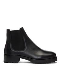 schwarze Chelsea Boots aus Leder von Tiger of Sweden