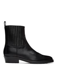 schwarze Chelsea Boots aus Leder von Toga Virilis