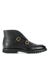 schwarze Chelsea Boots aus Leder von Tom Ford