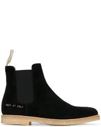 schwarze Chelsea Boots aus Wildleder von Common Projects