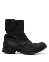 schwarze Chelsea Boots aus Wildleder von Poème Bohémien