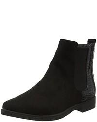 schwarze Chelsea-Stiefel von Boohoo