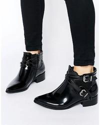 schwarze Chelsea Boots von Glamorous