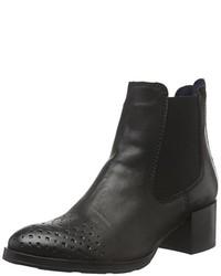 schwarze Chelsea Boots von Tamaris