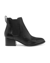 schwarze Chelsea-Stiefel aus Leder von Rag & Bone