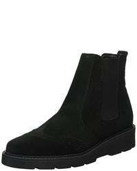 schwarze Chelsea-Stiefel von Esprit