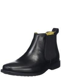 schwarze Chelsea-Stiefel von Steptronics