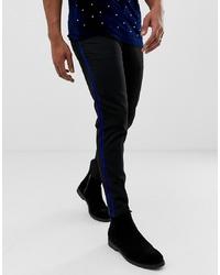 schwarze Chinohose von Burton Menswear