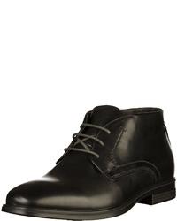 schwarze Chukka-Stiefel aus Leder von Ecco