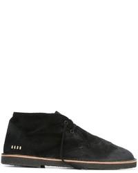 schwarze Chukka-Stiefel aus Leder von Golden Goose Deluxe Brand