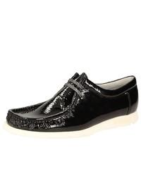 schwarze Chukka-Stiefel aus Leder von Grashopper