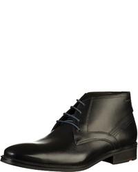schwarze Chukka-Stiefel aus Leder von Lloyd