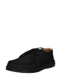 schwarze Chukka-Stiefel aus Wildleder von Birkenstock