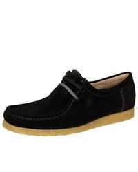 schwarze Chukka-Stiefel aus Wildleder von Grashopper
