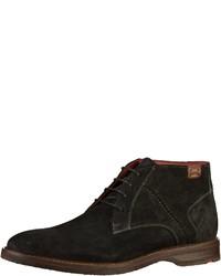 schwarze Chukka-Stiefel aus Wildleder von Lloyd