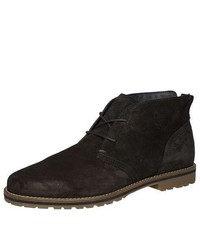 schwarze Chukka-Stiefel aus Wildleder von Tommy Hilfiger
