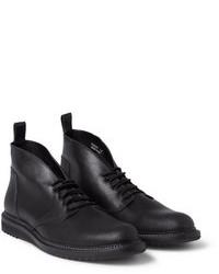 schwarze Chukka-Stiefel