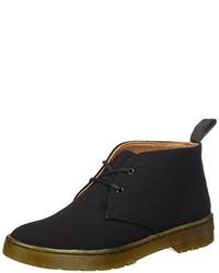 schwarze Chukka-Stiefel von Dr. Martens