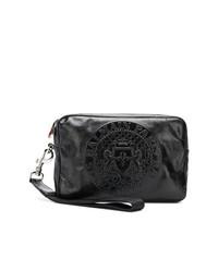 schwarze Clutch Handtasche von Balmain