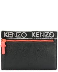 schwarze Clutch von Kenzo
