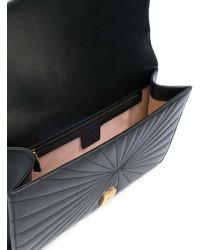 schwarze Clutch von Gucci