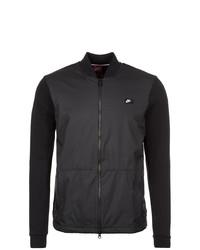 schwarze Collegejacke von Nike Sportswear