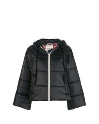 schwarze Daunenjacke von Gucci