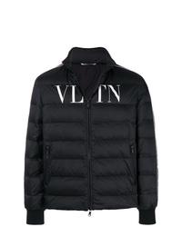 schwarze Daunenjacke von Valentino