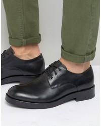 schwarze Derby Schuhe von Calvin Klein