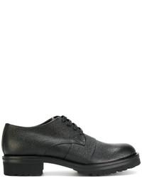 schwarze Derby Schuhe von Marni