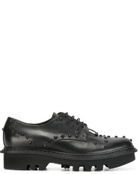 schwarze Derby Schuhe von Neil Barrett