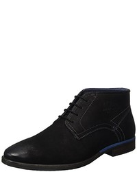 schwarze Derby Schuhe von s.Oliver
