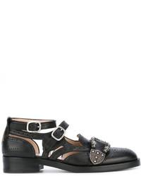schwarze Doppelmonks von Gucci