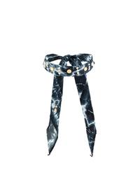 schwarze enge Halskette von Dannijo