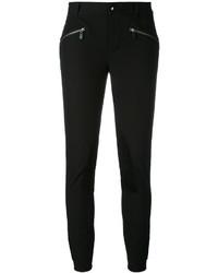schwarze enge Hose von Ralph Lauren