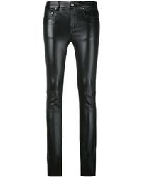 schwarze enge Hose von Saint Laurent