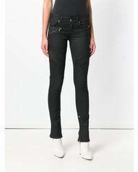 schwarze enge Hose von Versace Jeans