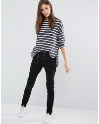 schwarze enge Hose von Vero Moda