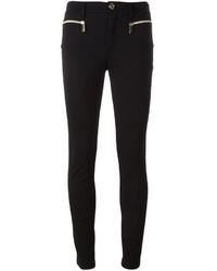 schwarze enge Hose von Versace