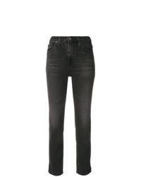 schwarze enge Jeans von AG Jeans