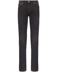 schwarze enge Jeans von Alexander McQueen